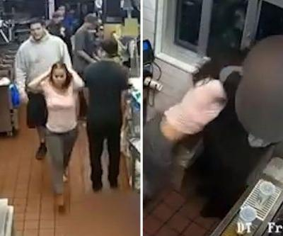 Woman chokes McDonald's manager over ketchup dispute