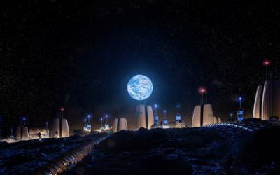 SOM Collaborates with the European Space Agency to Research Habitation on the Moon