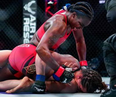 Claressa Shields reflects on MMA debut win at 2021 PFL 4: 'I knew it wasn't going to be easy'