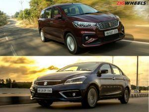 Maruti Ciaz Ertiga Lower-spec Variants Will Miss Out New 15-litre Diesel