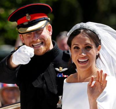 11 candid photos of the royal family at Prince Harry and Meghan Markle's wedding