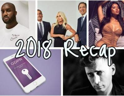 2018 fashion recap: most important news of the year