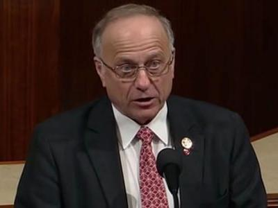 Steve King Hits GOP Leadership for 'Political Decision' to Remove Him from House Committees