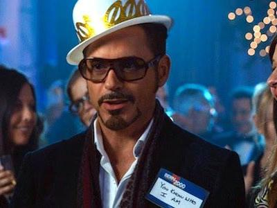Take The Iron Man 3 New Year's Eve Challenge With Robert Downey Jr