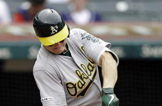Montas pitches Oakland to 6th straight win, 7-2 over Indians