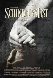 What exactly the poster of Schindler's list depicts