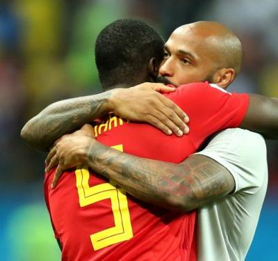 How France legend Henry has moulded Lukaku into the World Cup's most complete striker