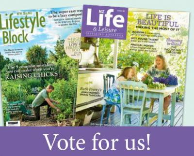 Vote for NZ Life & Leisure and NZ Lifestyle Block in the Magshop People's Choice Awards