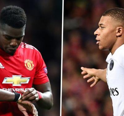 Pogba loses his head as Mbappe leaves Man Utd needing a miracle