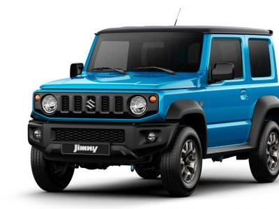 Official Pictures Of The Suzuki Jimny Are Finally Here
