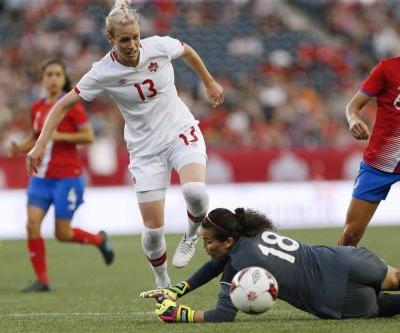Schmidt scores winner as Canada beats Nigeria in women's soccer friendly