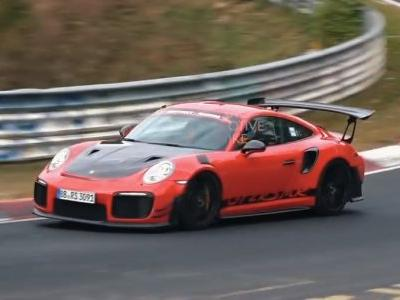Porsche 911 GT2 RS MR Spied During Nurburgring Revisit