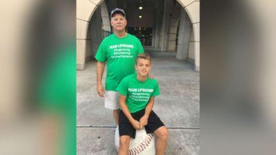 Dad's priceless gift to 14-year-old son: His left kidney