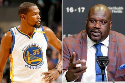 Kevin Durant rips 's-tty' shooter Shaq in defense of teammate