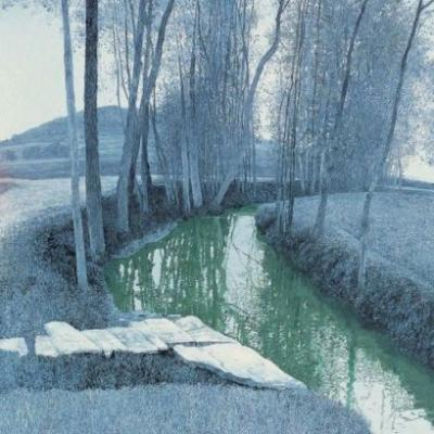 Selected works by  Wang Long Sheng, a Chinese contemporary