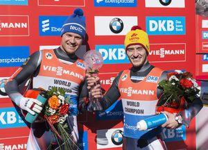 Repilov beats Loch to win overall luge World Cup title