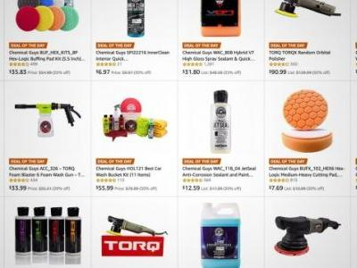 Your Car Needs a Holiday Gift Too: Amazon's Discounting a Ton of Chemical Guys Stuff Today