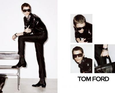 Sharif Idris, Henry Kitcher & Erik Van Gils Front Tom Ford Spring '19 Campaign