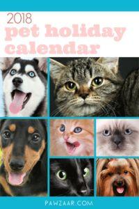 Download the Pet Holiday Calendar in PDF Form!