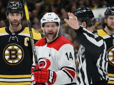 NHL playoffs 2019: Hurricanes' Justin Williams on Game 2 loss: 'Sometimes you've got to eat a poop sandwich'
