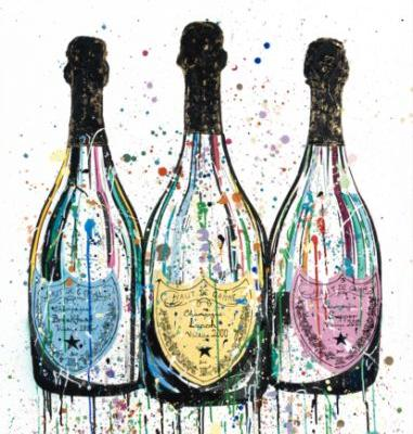 InterContinental Celebrates 200 Hotels with Champagne Art