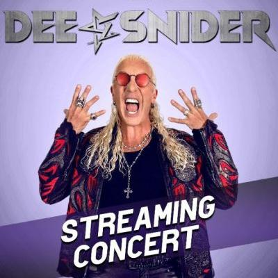 DEE SNIDER Announces Streaming Concert Event