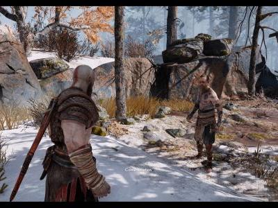 God of War First Boss guide: How to beat The Stranger