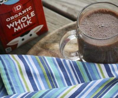 Blender Made Spiced Hot Chocolate