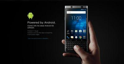 BlackBerry 'KeyOne' product page goes live early, reveals full specs