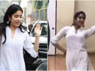 Janhvi Kapoor in new dance video will remind you of Sridevi. Seen it yet?