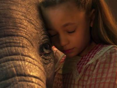 Here's your first look at Disney's live-action remake of 'Dumbo'
