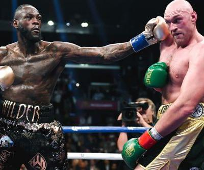 Tyson Fury and Deontay Wilder Engage in Six-Minute-Long Staring Contest in Trilogy Press Conference