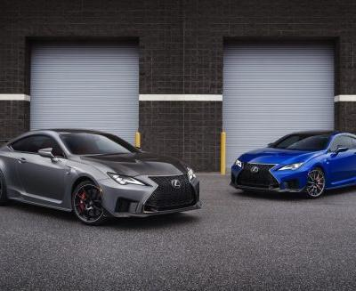 Lexus RC F and RC F Track Edition Now Available in South Africa