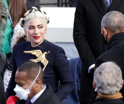 Lady Gaga's Inauguration 2021 Outfit Was 100% Extra, From Skirt To Brooch