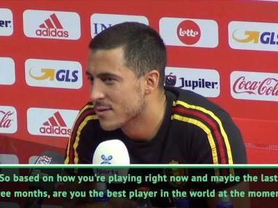Hazard wants Spain move to win Ballon d'Or.but not in January