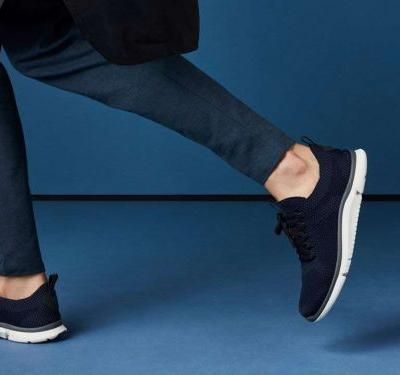 Clarks made a pair of modern knit sneakers that unbelievably comfortable - and they're under $100