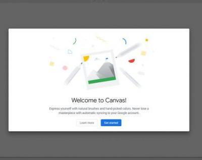 Google Chrome Canvas is a simple browser app for drawing