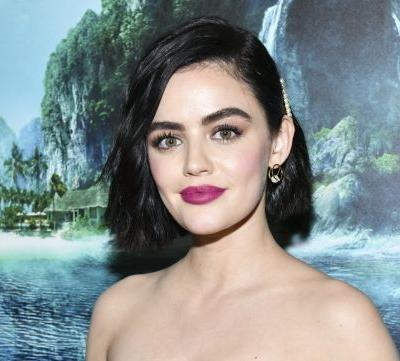 Lucy Hale Dyed Her Signature Dark Hair a Honey-Blond Color, and We're Feeling Inspired