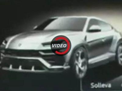 Did Lamborghini Just Reveal The Urus By Accident?