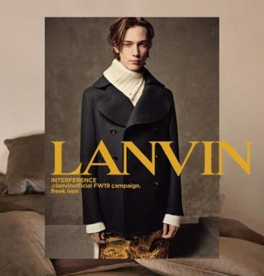Lanvin Enlists Freek Iven + More for Fall '19 Campaign