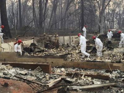 PG&E Transmission Lines Caused California's Deadliest Wildfire, State Officials Say