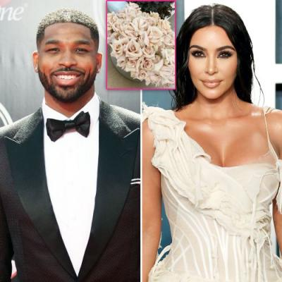 Kim Kardashian Gets Flowers From Tristan Thompson for Early Mother's Day Gift: 'So Beautiful'