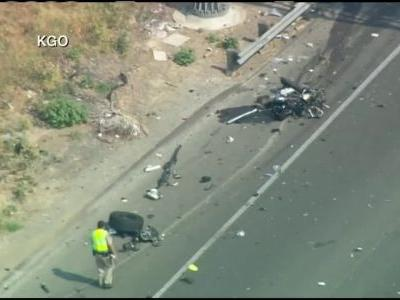 CHP officer, driver killed in crash on I-80 in Fairfield