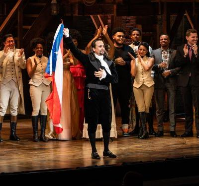 Lin-Manuel Miranda returns to 'Hamilton' for a limited Puerto Rico run with a message: The island is open for business