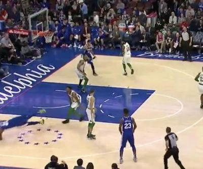 Watch: Celtics' Marcus Smart ejected for shoving Sixers' Joel Embiid