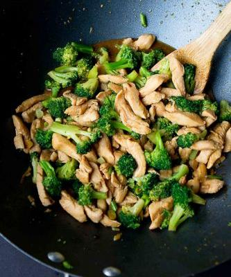 Chicken Stir Fry Recipe with Broccoli
