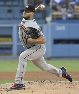 Astros place RHP McCullers on DL with elbow discomfort