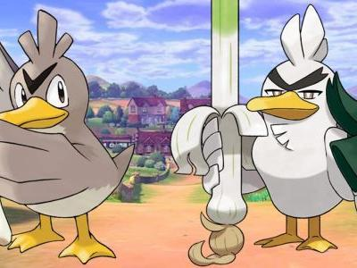 Pokemon Sword: How to Evolve Galarian Farfetch'd into Sirf