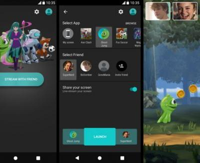 Sony's PlayJ app lets you screen share games and watch videos with friends