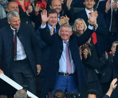 'Welcome back': Ferguson at United for first time since brain op